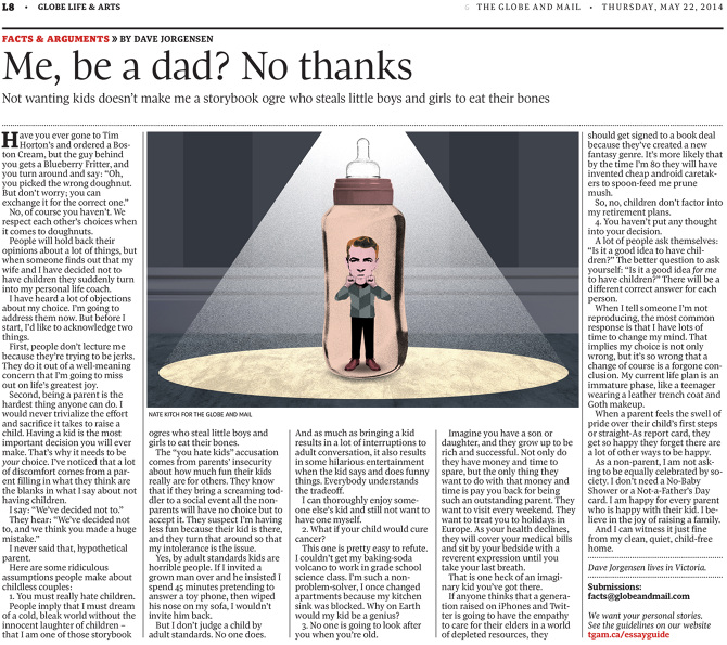 globe and mail facts and arguments essay All last week, the globe and mail celebrated 20 years of publishing facts &  arguments essays i have had five of my essays published on the.
