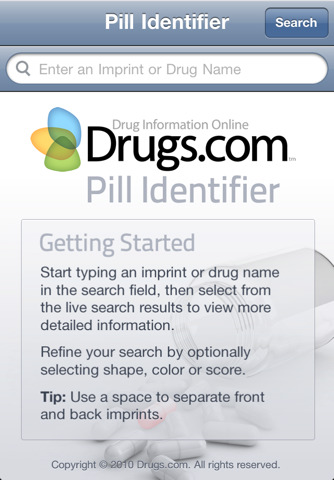 drugs pill finder - frog-trends, Skeleton
